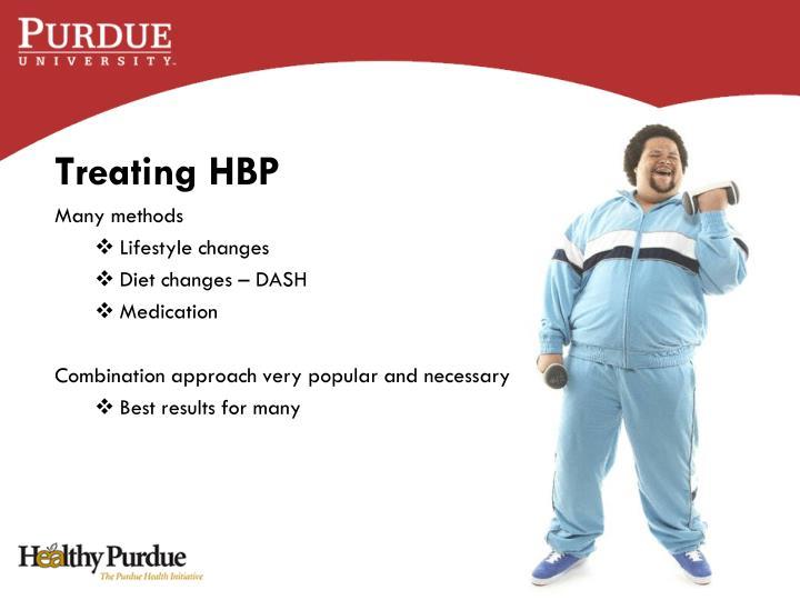 Treating HBP