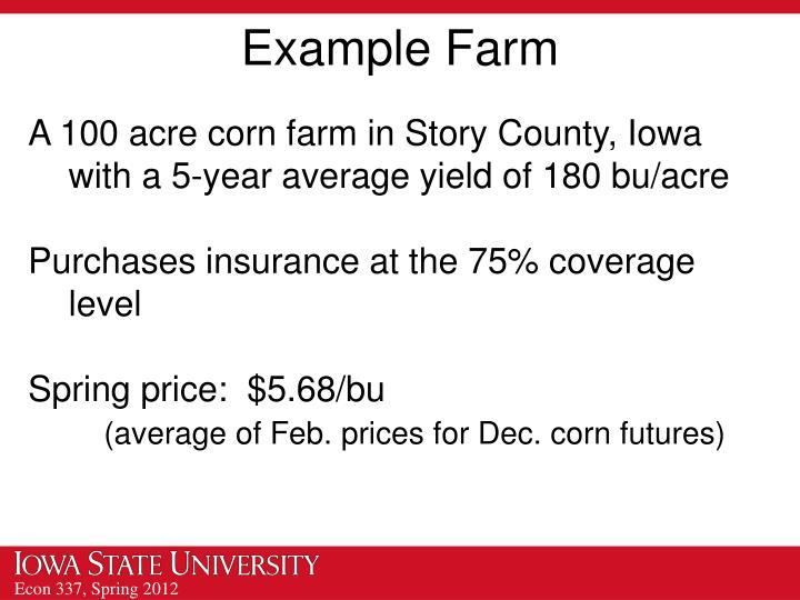 Example Farm