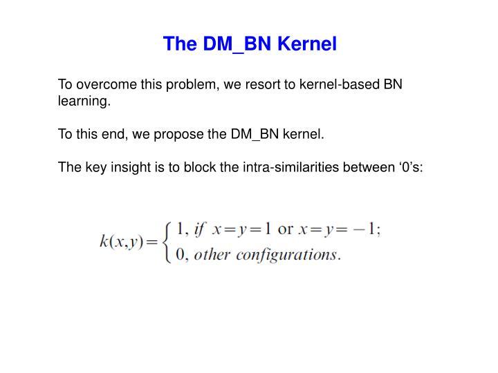The DM_BN Kernel