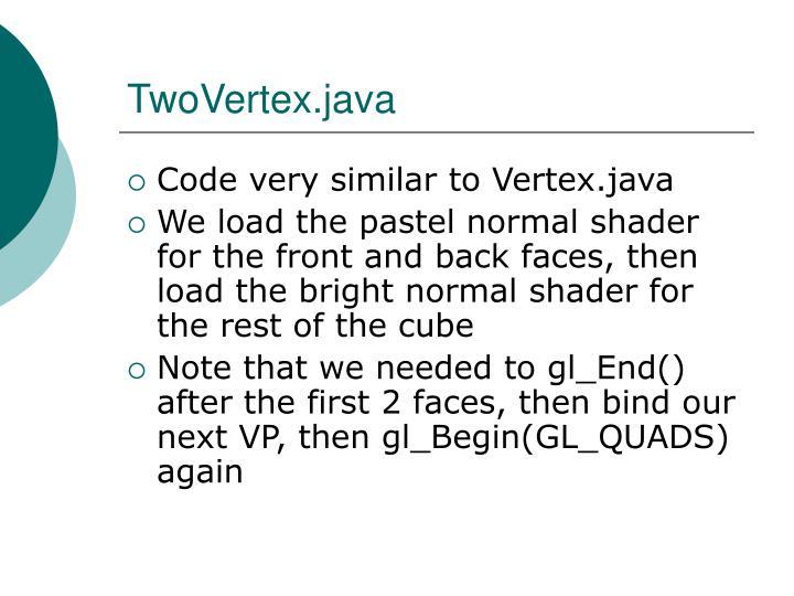 TwoVertex.java