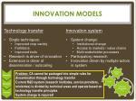 innovation models1
