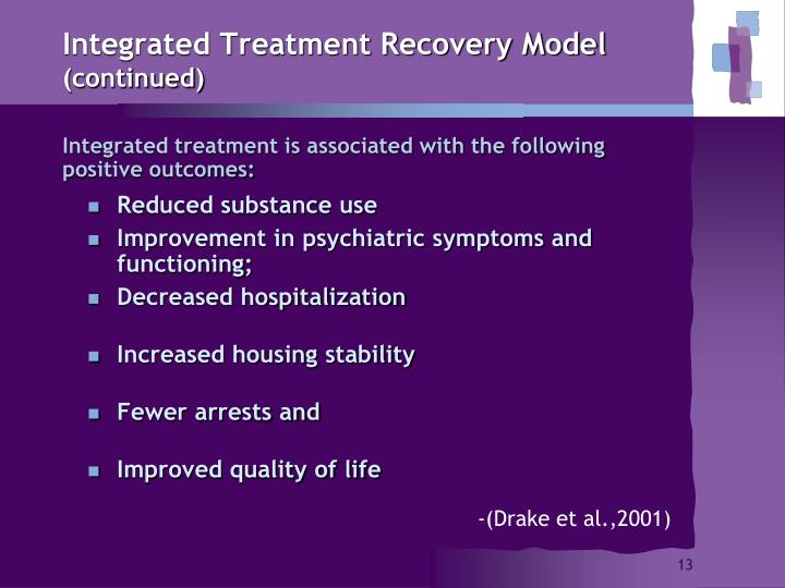 Integrated Treatment Recovery Model