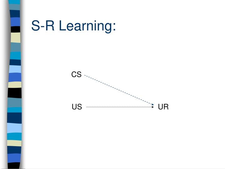 S-R Learning: