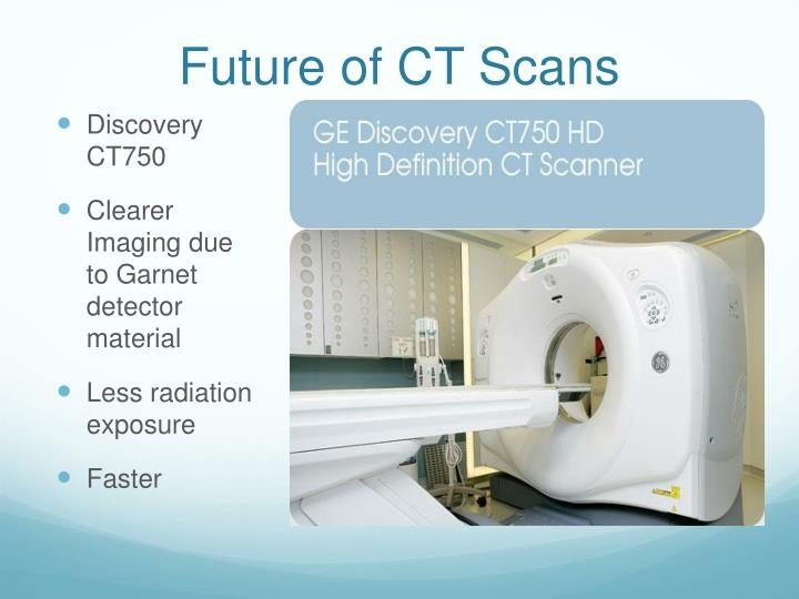 Future of CT Scans