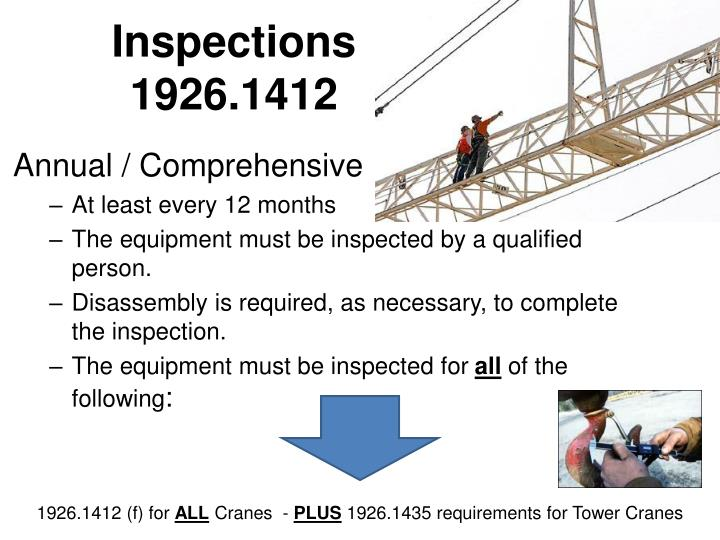 Tower Crane Wire Rope Inspection: Tower crane daily inspection ...