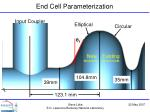 end cell parameterization