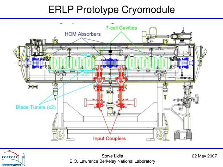 ERLP Prototype Cryomodule