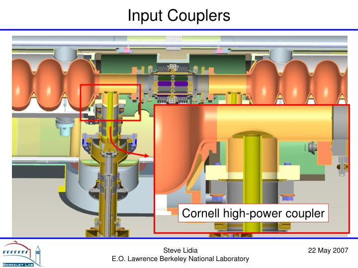 Cornell high-power coupler