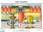 input couplers