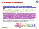 4 summary conclusions
