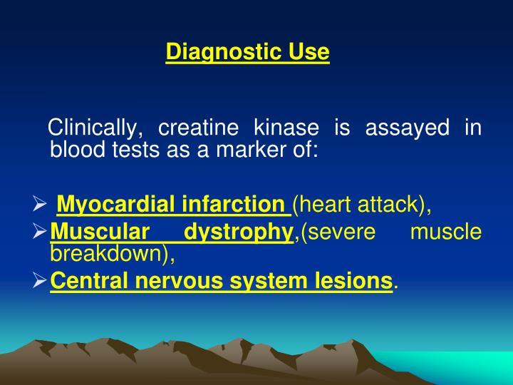 Diagnostic Use