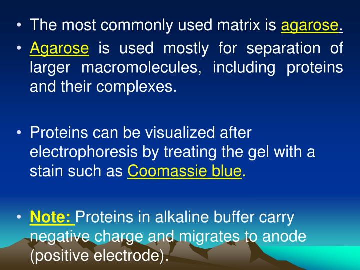 The most commonly used matrix is