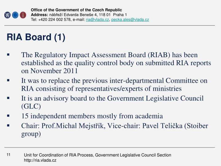 RIA Board (1)