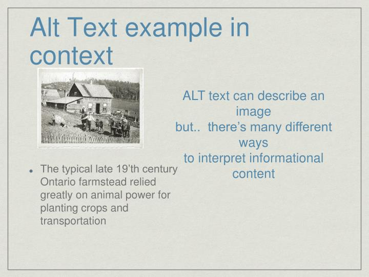 Alt Text example in context