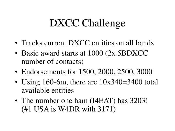 DXCC Challenge