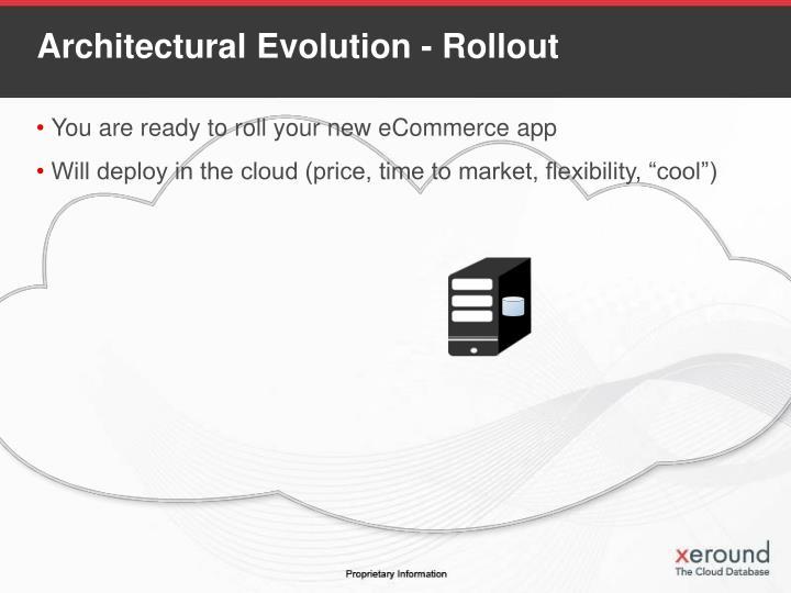 Architectural Evolution - Rollout