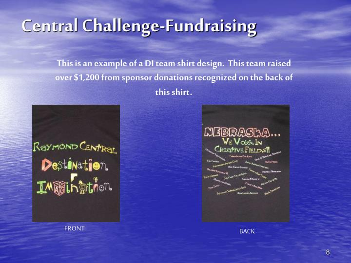 Central Challenge-Fundraising