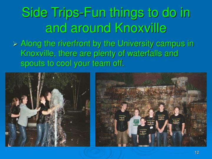 Side Trips-Fun things to do in and around Knoxville