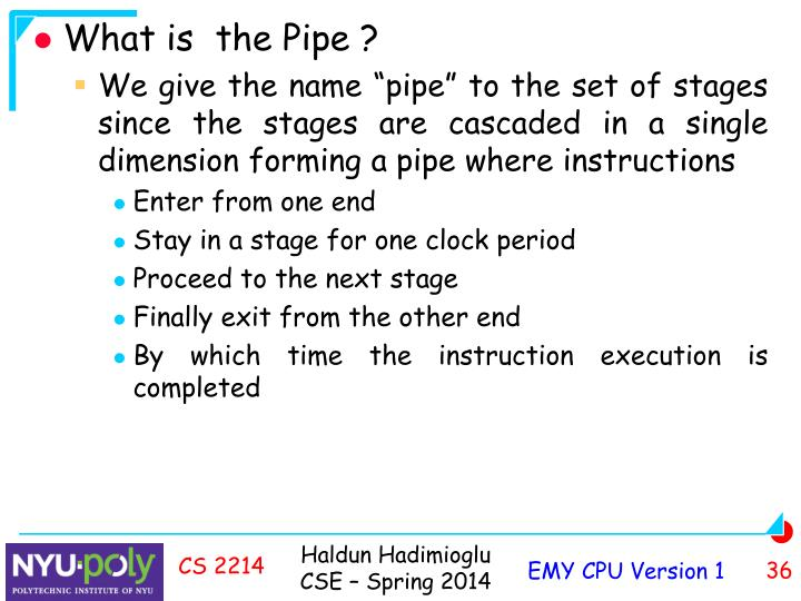 What is  the Pipe ?