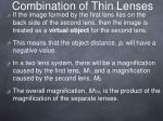 combination of thin lenses1