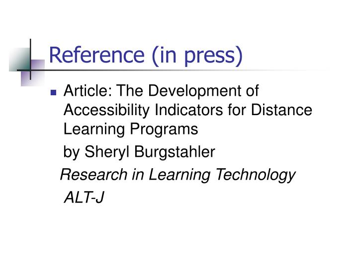 Reference (in press)