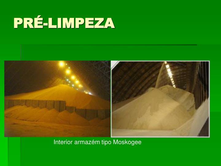PRÉ-LIMPEZA