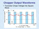 chopper output waveforms