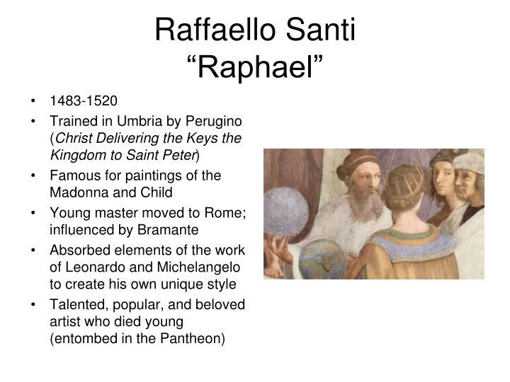 Raffaello Santi