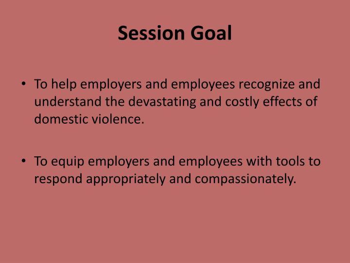 Session Goal