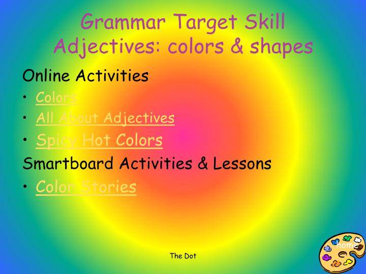 Grammar Target Skill