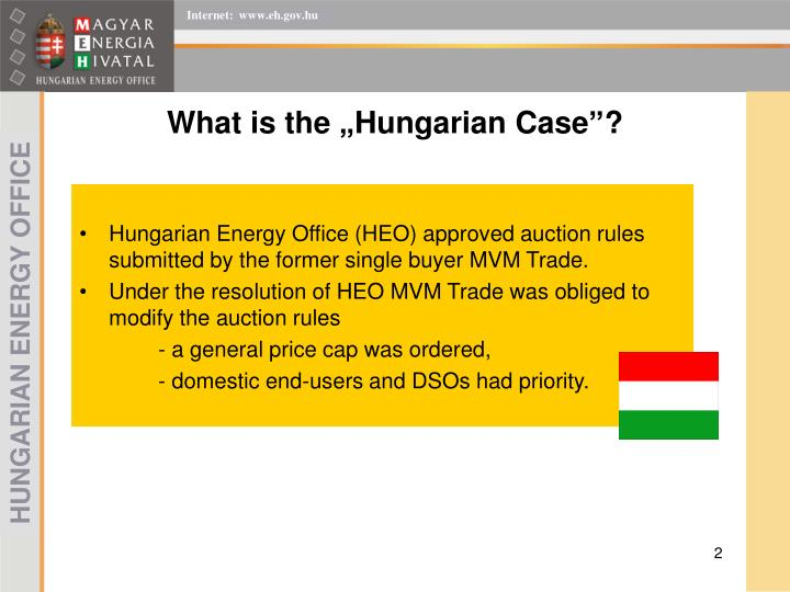 What is the hungarian case