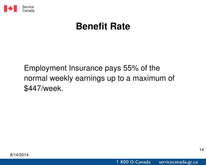 Benefit Rate