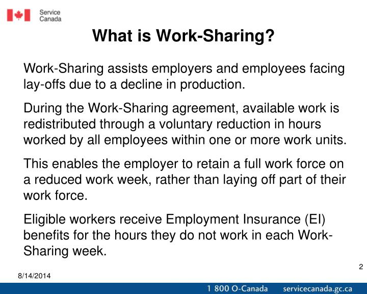 What is Work-Sharing?