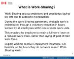 what is work sharing