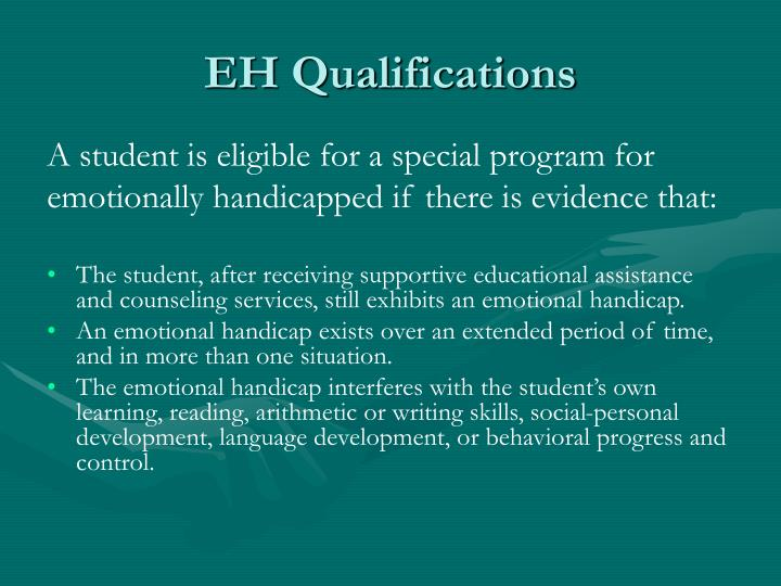 EH Qualifications