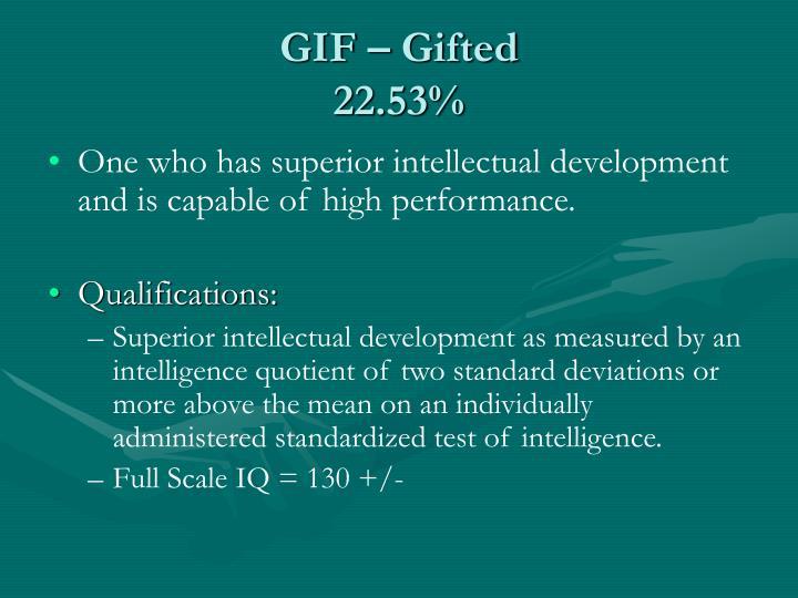 GIF – Gifted