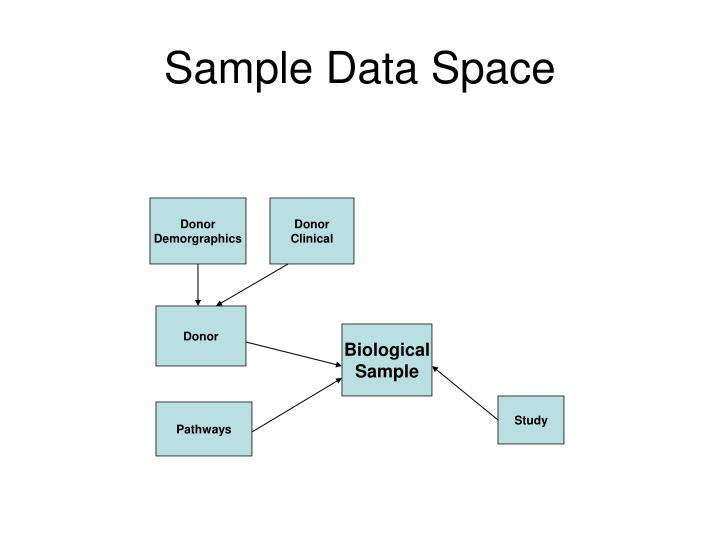 Sample Data Space