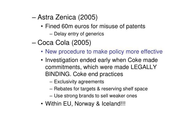 Astra Zenica (2005)