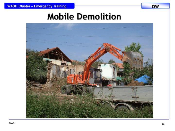 Mobile Demolition