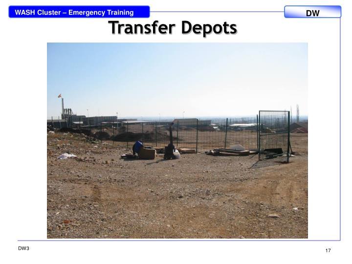 Transfer Depots