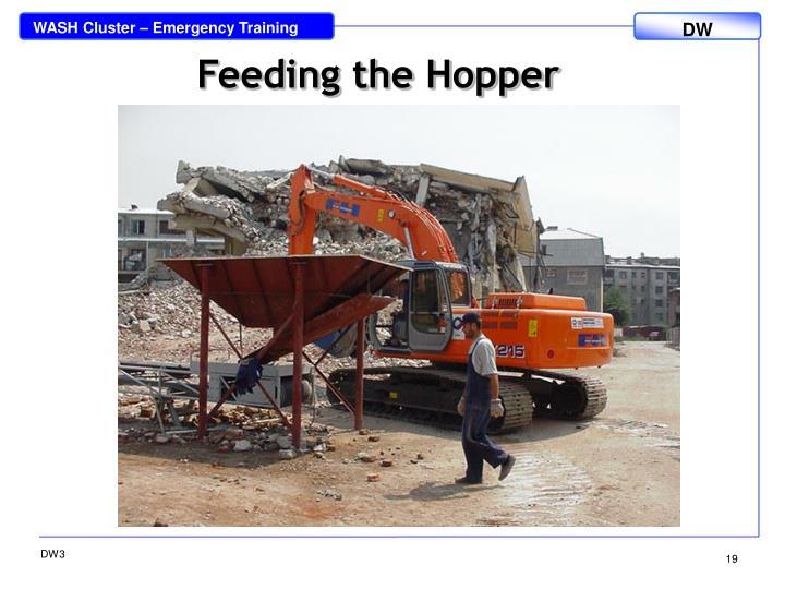 Feeding the Hopper