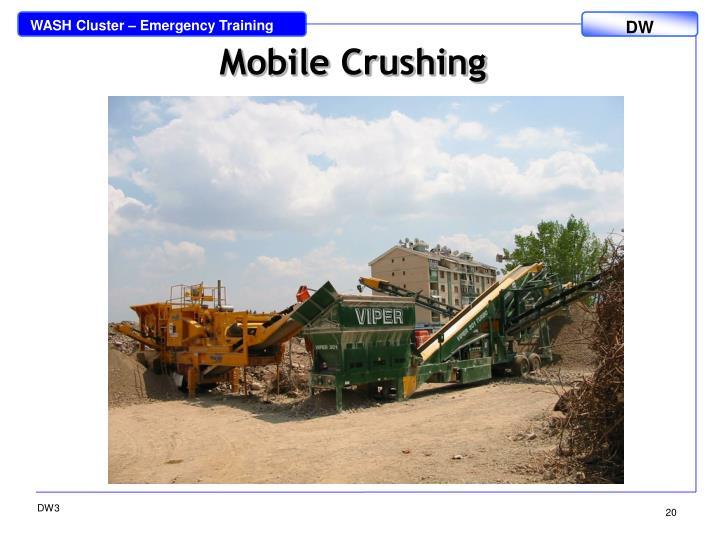 Mobile Crushing