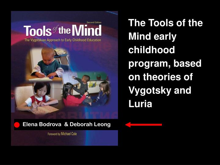 The Tools of the Mind early childhood program, based on theories of Vygotsky and Luria