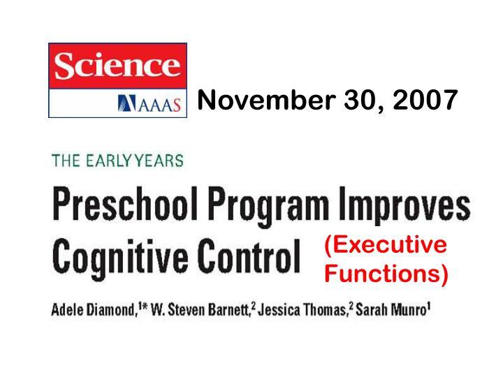 November 30, 2007