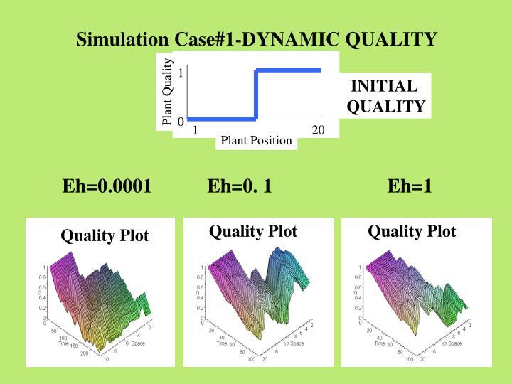 Simulation Case#1-DYNAMIC QUALITY