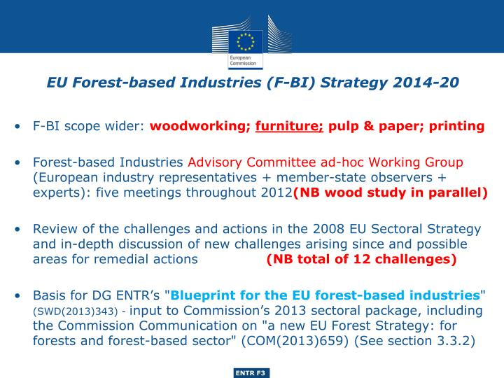 Eu forest based industries f bi strategy 2014 20