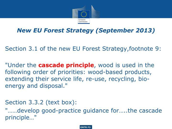 New EU Forest