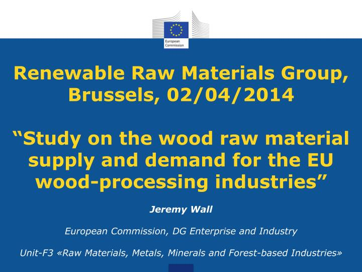 Renewable Raw Materials Group
