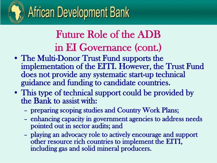 Future Role of the ADB