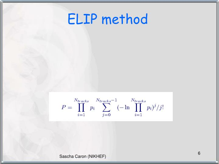 ELIP method